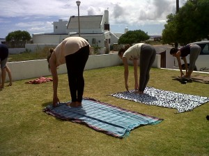 Yoga and surfing South Africa