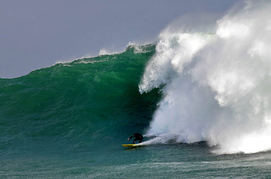 Andy Marr - Big wave surfing Cape Town