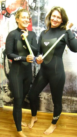 Cape Town Surfsisters wetsuit shopping